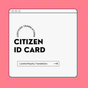 Citizen ID Card
